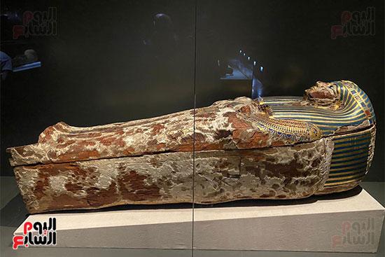 المومياوات الملكية متاحة لاستقبال الزوار بالمتحف القومى للحضارة (21)