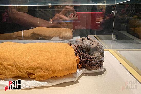 المومياوات الملكية متاحة لاستقبال الزوار بالمتحف القومى للحضارة (16)