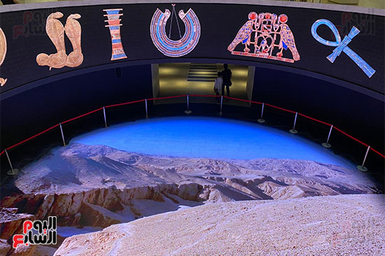 المومياوات الملكية متاحة لاستقبال الزوار بالمتحف القومى للحضارة (28)