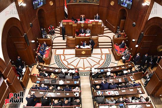 جلسة مجلس الشيوخ اليوم (4)
