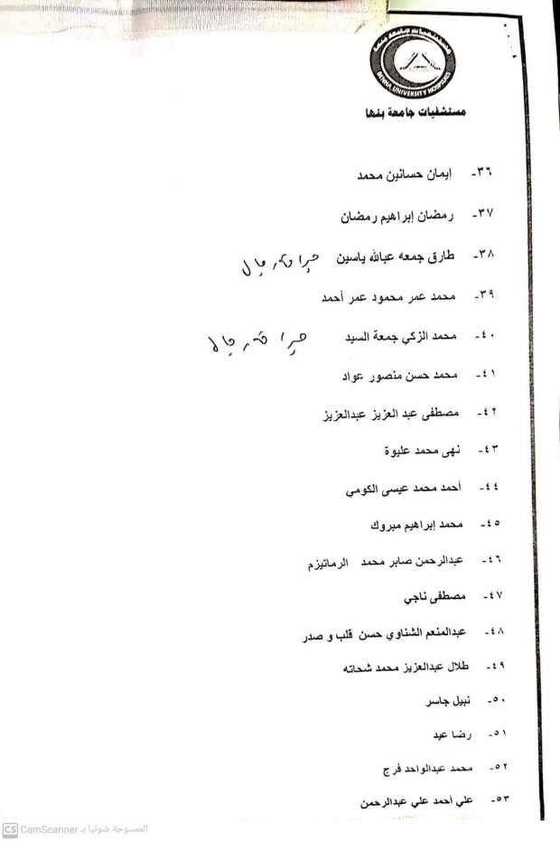 أسماء المصابين فى حادث قطار طوخ  (3)