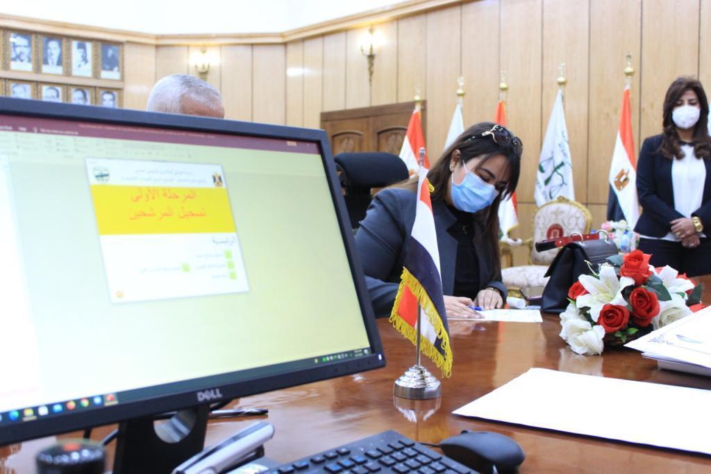 مجلس الدولة يستقبل طلبات القاضيات للتعيين بمجلس الدولة (2)