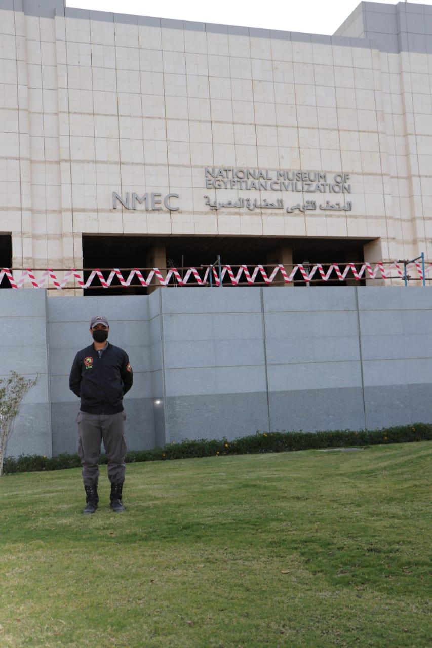 المتحف القومي للحضارة قبل نقل المومياوات