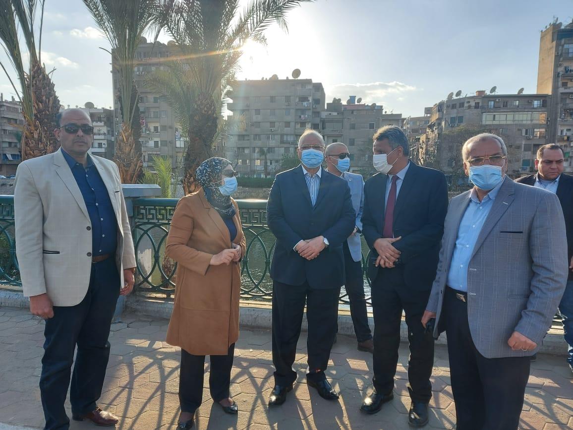 محافظ القاهرة يتفقد مسار نقل المومياوات