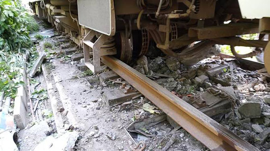 صور من مكان الحادث