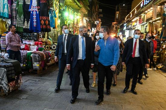 جولة وزير السياحة والأمين العام لمنظمة السياحة العالمية (2)