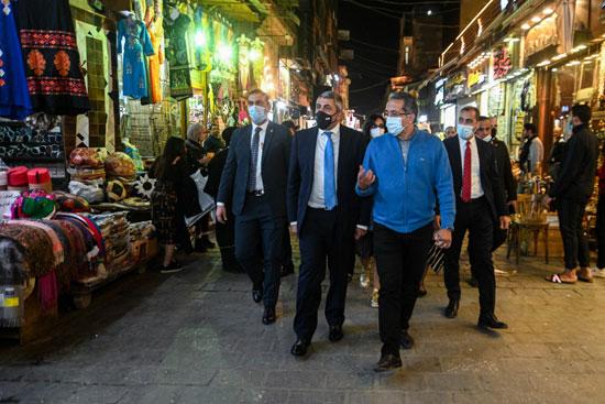 جولة وزير السياحة والأمين العام لمنظمة السياحة العالمية (8)