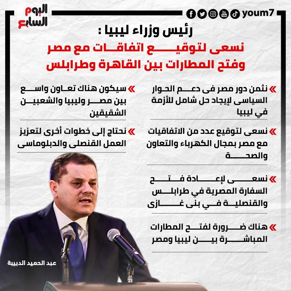 تصريحات رئيس وزراء ليبيا