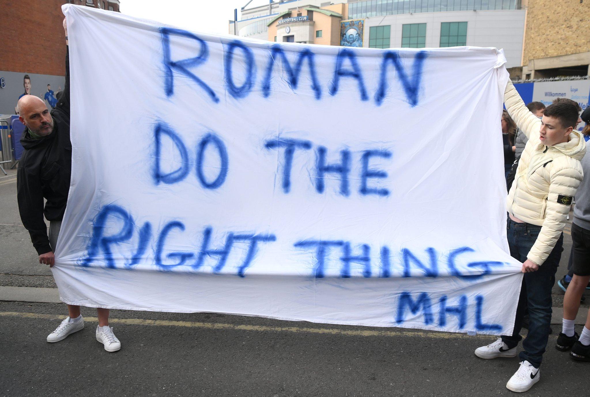 احتجاجات جماهير تشيلسي (2)