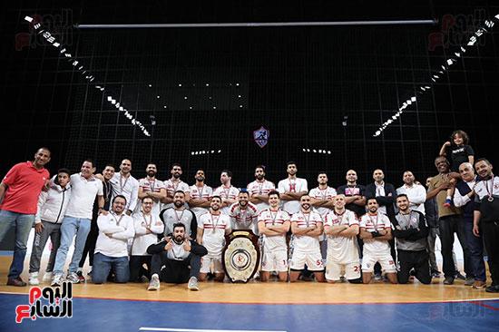فريق كرة اليد بنادي الزمالك
