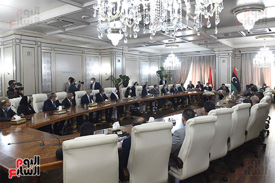 زيارة رئيس الوزراء لليبيا (3)