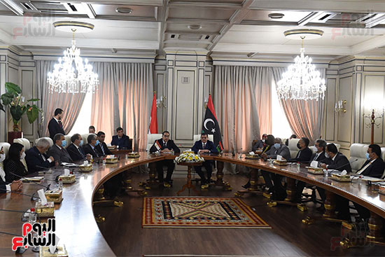 زيارة رئيس الوزراء لليبيا (5)