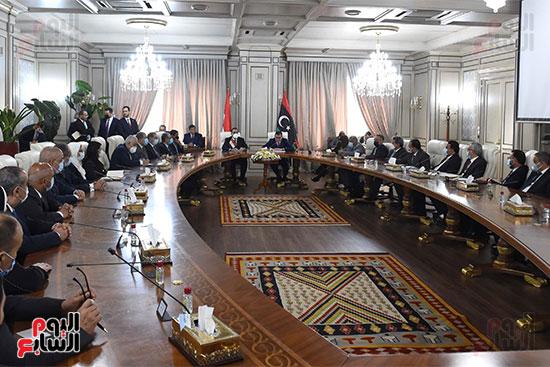 زيارة رئيس الوزراء لليبيا (1)