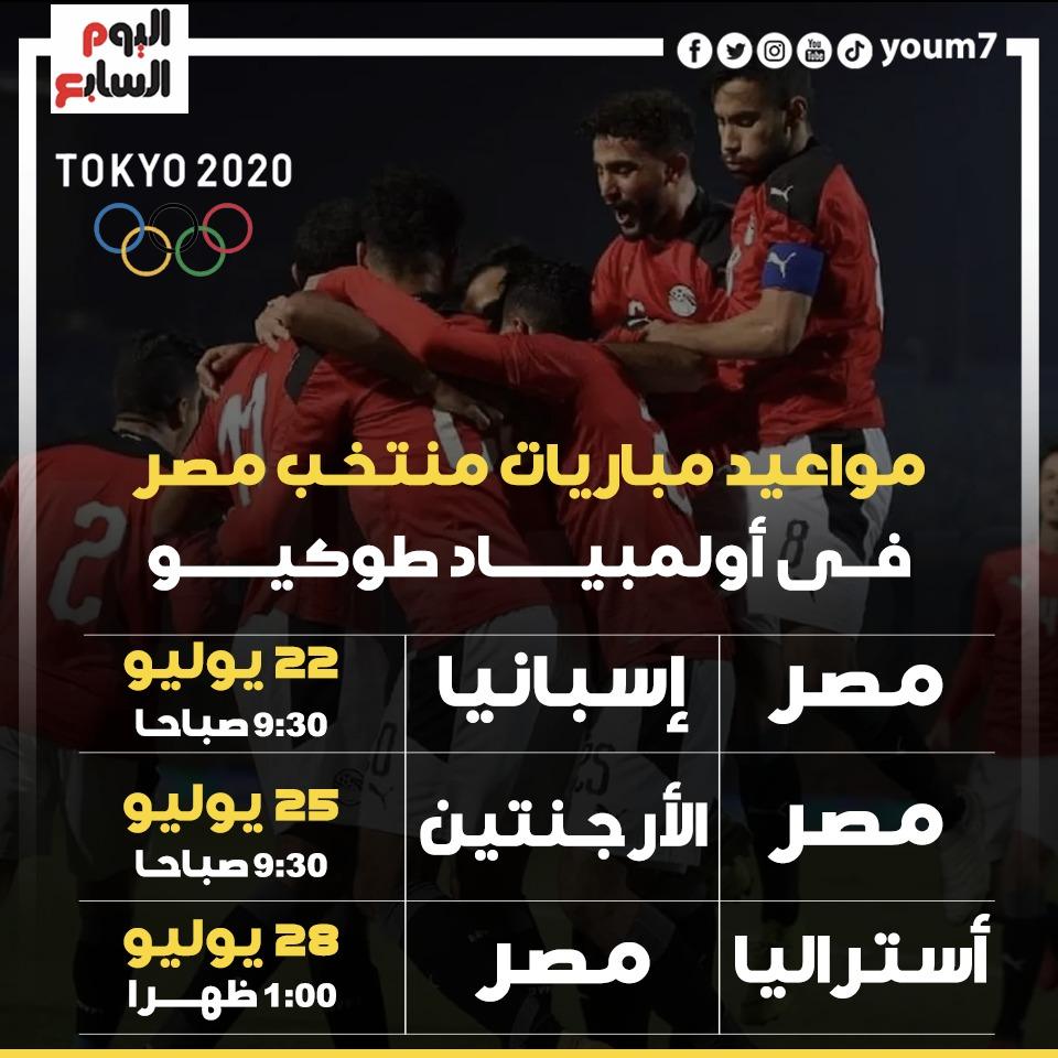 مواعيد مباريات مصر