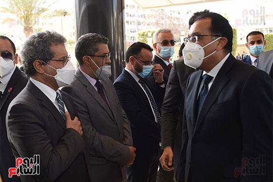 زيارة مدبولى لليبيا (2)