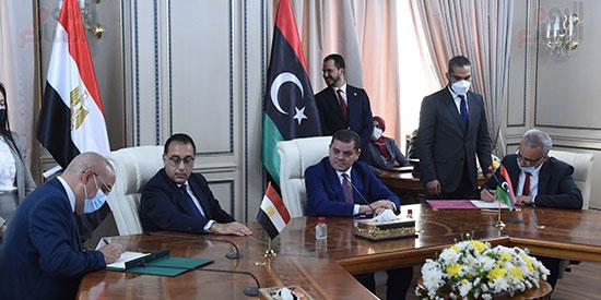 زيارة مدبولى لليبيا