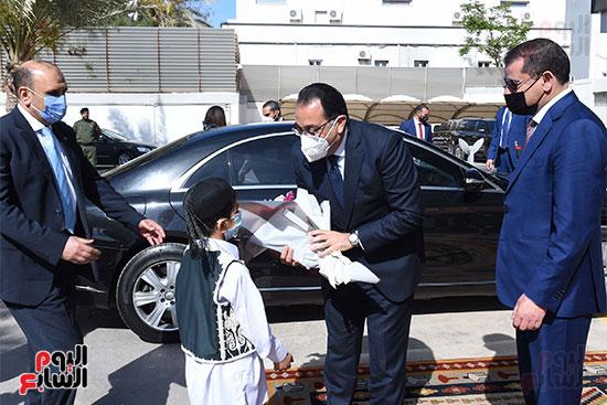 استقبال الدكتور مصطفى مبدولى بالعاصمة الليبية طرابلس