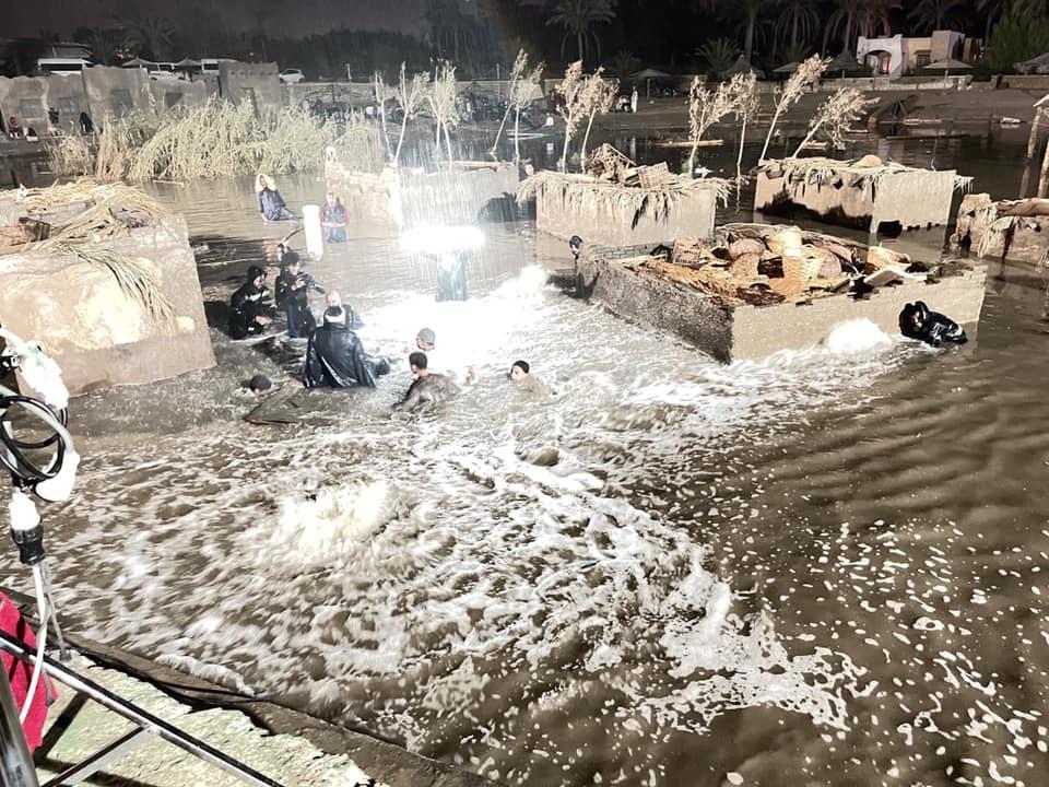 مشهد الفيضان