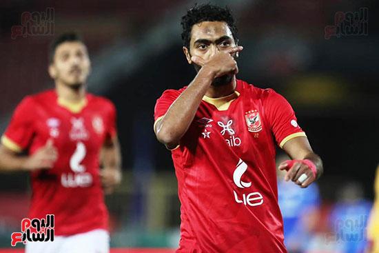 احتفال حسين الشحات بالهدف