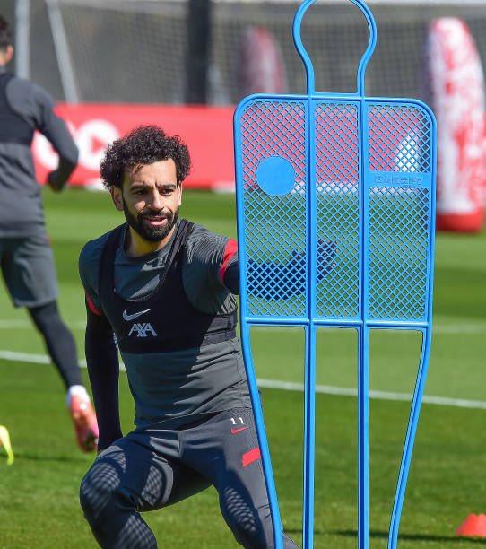محمد صلاح فى تدريبات ليفربول (2)