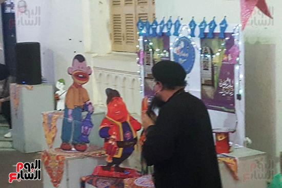 تنورة-وأغانٍ-وفقرات-فنية-للأطفال-فى-سهرة-رمضانية-بالبحيرة-(8)