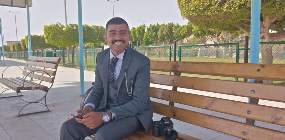 المصور ميكي رؤوف بمحافظة قنا