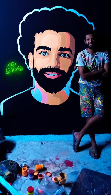 رسومات جرافيتى محمد جمعة (3)