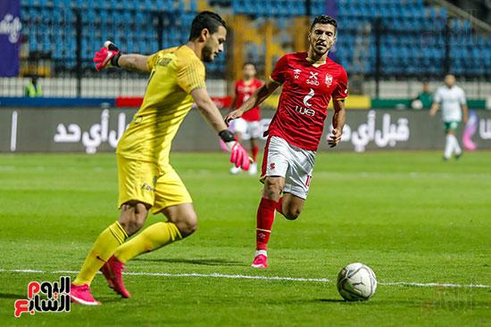 مباراة الاهلى والمصرى (2)