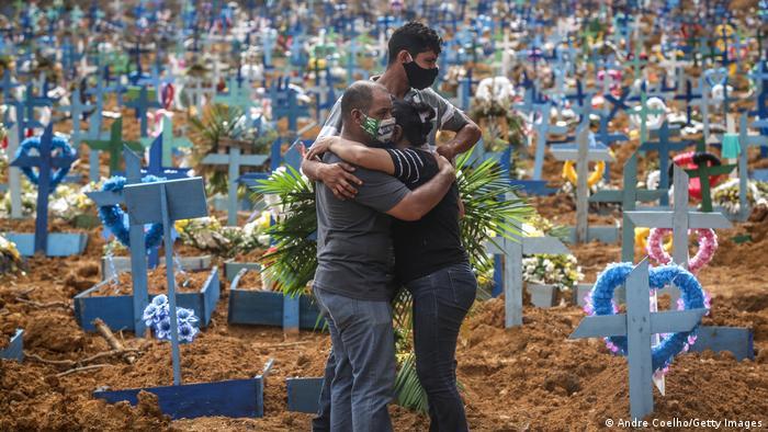 ارتفاع الوفيات فى البرازيل