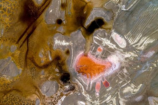 أصبح قاع البحيرة الجافة أكبر مصدر منفرد لتلوث الغبار