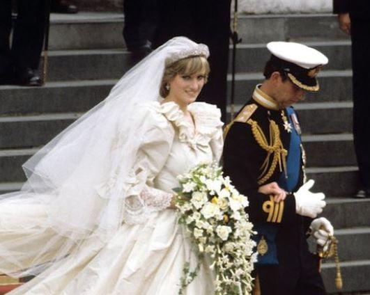 زفاف الاميرة ديانا