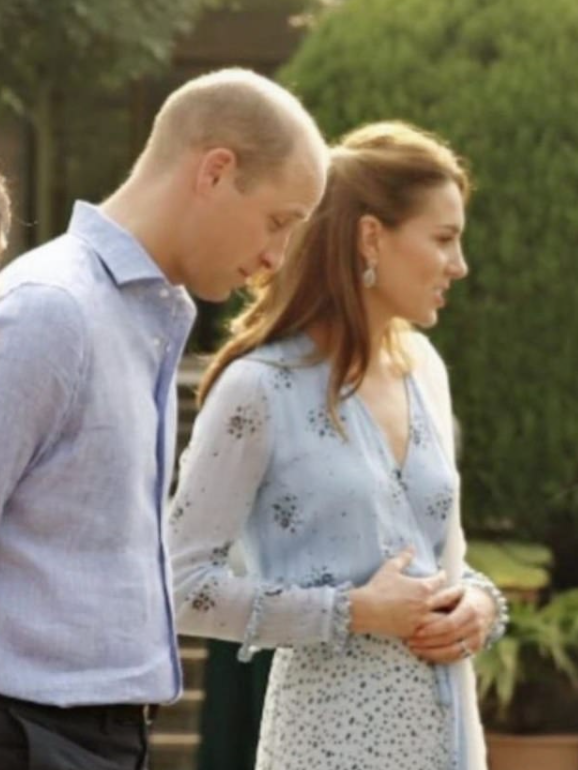 Kate Middleton and Prince William in Pakistan 2019