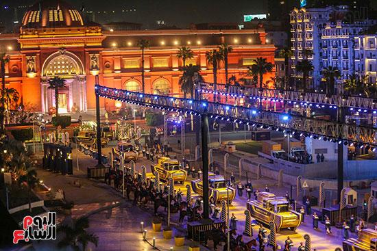 موكب المومياوات الملكية بميدان التحرير (6)