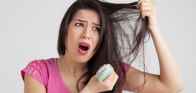 تساقط الشعر المفاجئ
