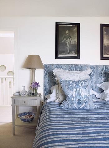 ديكور غرفة النوم.. سرير قماش