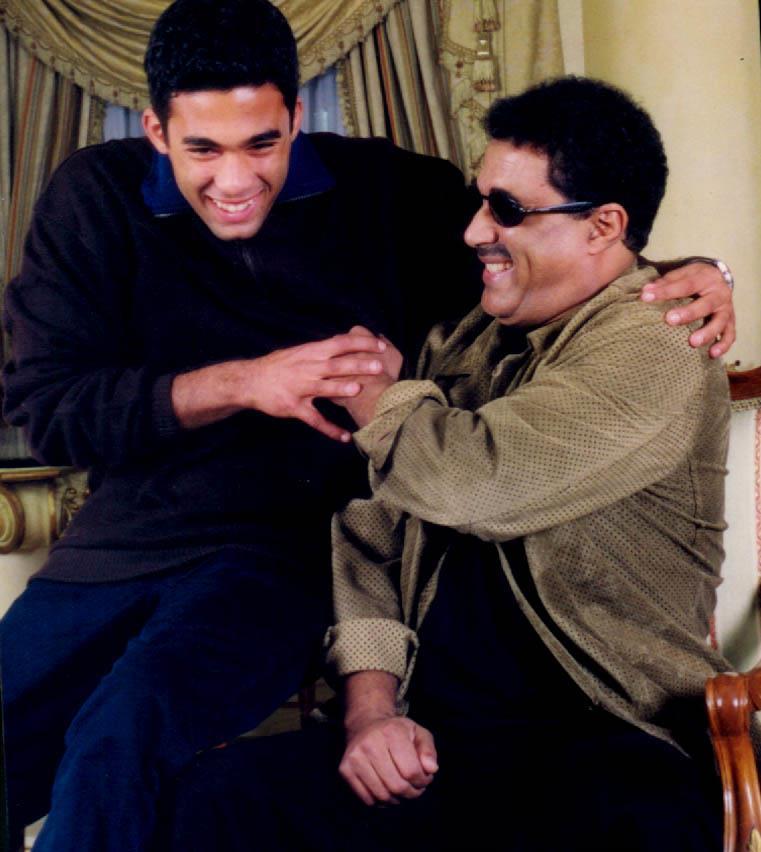 أحمد زكى و والده