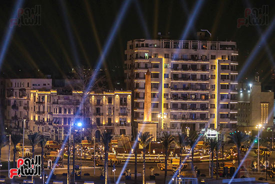 موكب المومياوات الملكية بميدان التحرير (14)