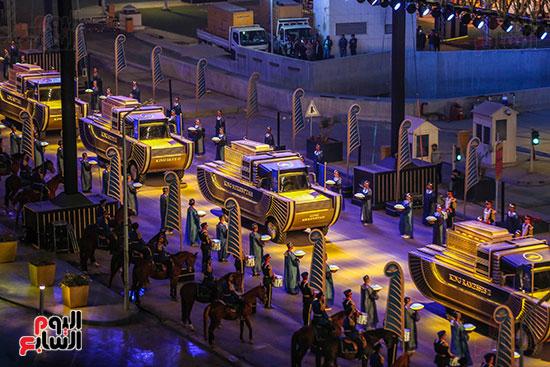 موكب المومياوات الملكية بميدان التحرير (11)
