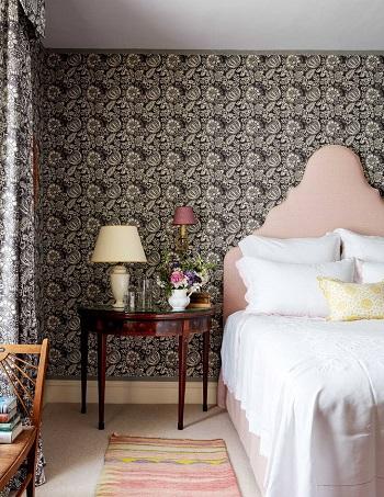 ديكور غرفة النوم.. ورق الحائط