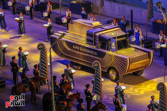 موكب المومياوات الملكية بميدان التحرير (13)