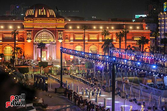 موكب المومياوات الملكية بميدان التحرير (1)