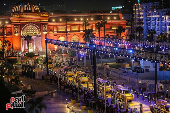 موكب المومياوات الملكية بميدان التحرير (9)