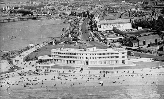فندق ميدلاند والواجهة البحرية ، موريكامب ، 1934