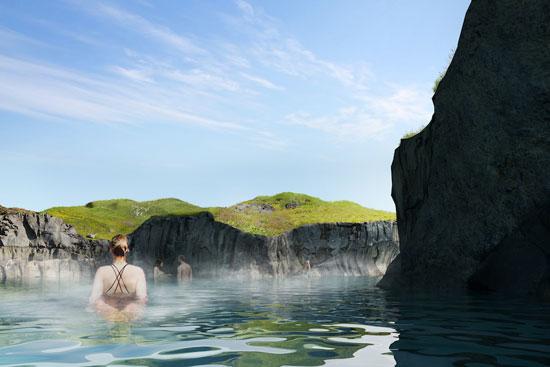 حمام الحيوية فى ايسلندا (2)