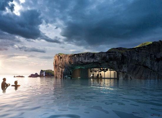 حمام الحيوية فى ايسلندا (9)