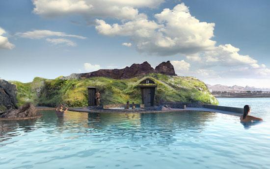 حمام الحيوية فى ايسلندا (1)