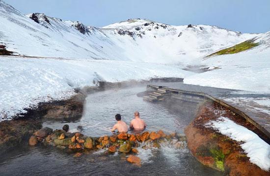حمام الحيوية فى ايسلندا (7)