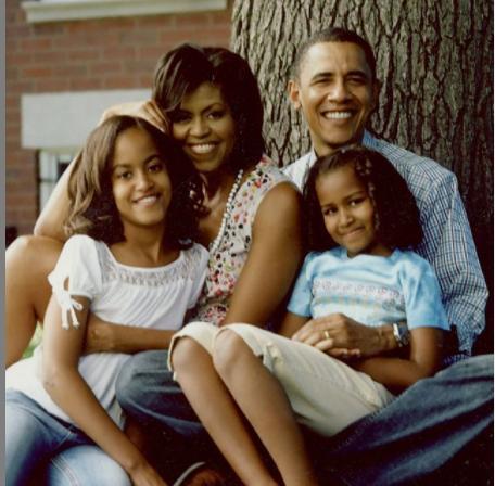 عائلة باراك أوباما