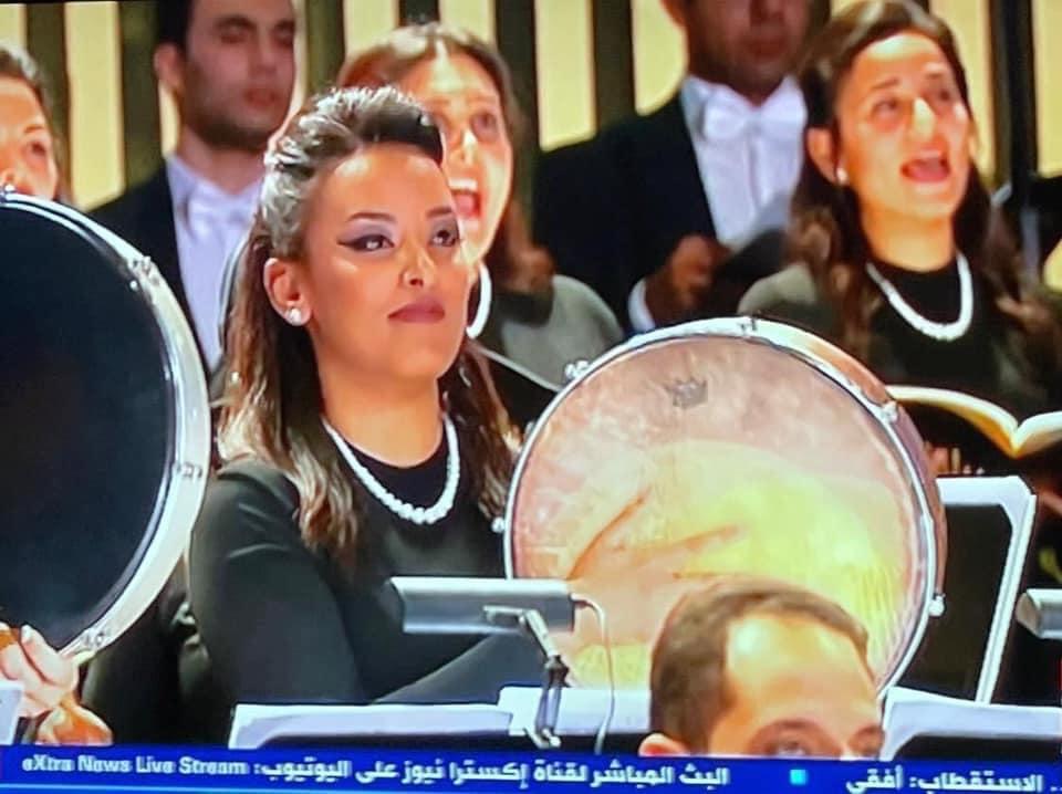 عظيمات مصر فى حفل موكب المومياوات الملكية