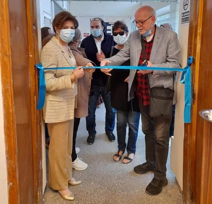 افتتاح معرض الدكتورة هالة محمد حسنين بفنون جميلة الزمالك
